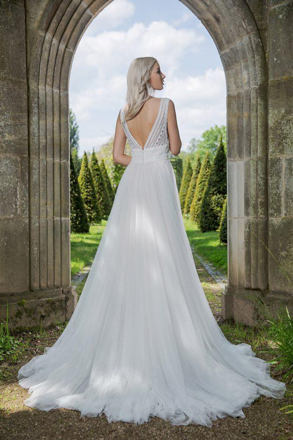 AnnAngelex Kollektion 2020 Ivory Brautkleid Barbary B2057 4 Avorio Vestito BrideStore And More Brautmode In Berlin Eiche