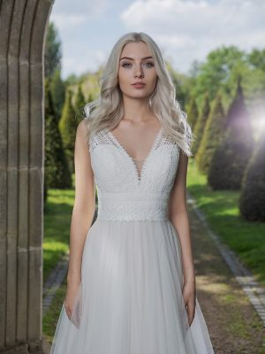 AnnAngelex Kollektion 2020 Ivory Brautkleid Barbary B2057 5 Avorio Vestito BrideStore And More Brautmode In Berlin Eiche
