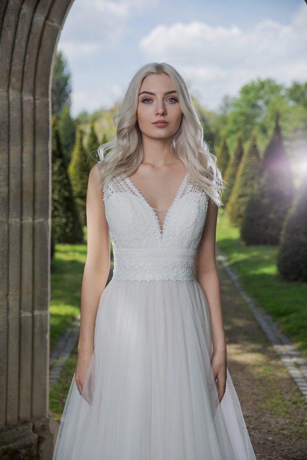 AnnAngelex Kollektion 2020 Ivory Brautkleid Barbary B2057 5 Avorio Vestito BrideStore And More Brautmode In Berlin Eiche