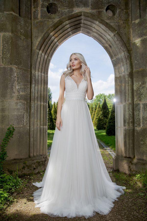 AnnAngelex Kollektion 2020 Ivory Brautkleid Barbary B2057 6 Avorio Vestito BrideStore And More Brautmode In Berlin Eiche
