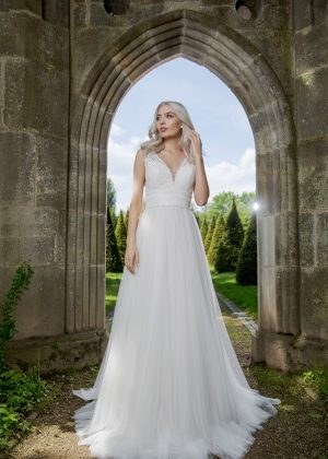 AnnAngelex Kollektion 2020 Ivory Brautkleid Barbary B2057 6 Avorio Vestito BrideStore And More Brautmode In Berlin Eiche