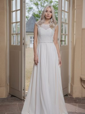 AnnAngelex Kollektion 2020 Ivory Brautkleid Barona B2053 2 Avorio Vestito BrideStore And More Brautmode In Berlin Eiche