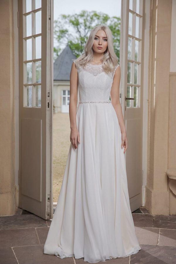 AnnAngelex Kollektion 2020 Ivory Brautkleid Barona B2053 2 Avorio Vestito BrideStore And More Brautmode In Berlin Eiche