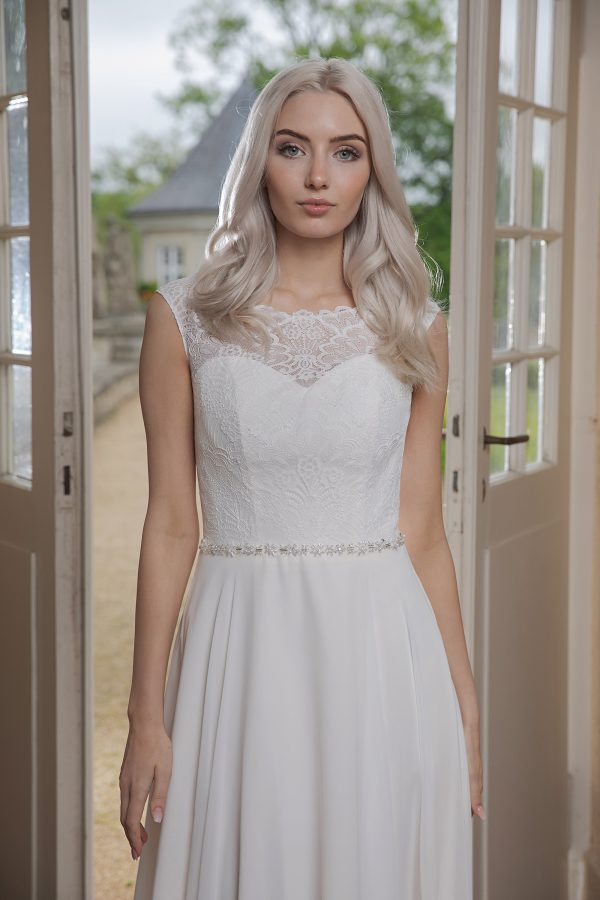 AnnAngelex Kollektion 2020 Ivory Brautkleid Barona B2053 3 Avorio Vestito BrideStore And More Brautmode In Berlin Eiche