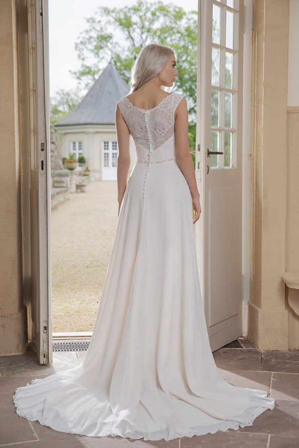 AnnAngelex Kollektion 2020 Ivory Brautkleid Barona B2053 4 Avorio Vestito BrideStore And More Brautmode In Berlin Eiche