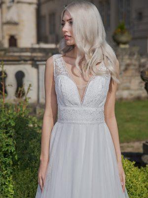 AnnAngelex Kollektion 2020 Ivory Brautkleid Bellana B2058 4 Avorio Vestito BrideStore And More Brautmode In Berlin Eiche