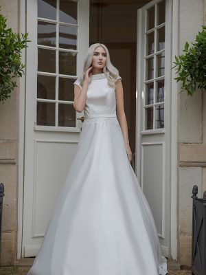 AnnAngelex Kollektion 2020 Ivory Brautkleid Bettina B2065 2 Avorio Vestito BrideStore And More Brautmode In Berlin Eiche
