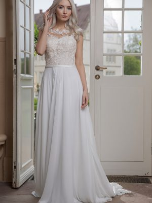 AnnAngelex Kollektion 2020 Ivory Brautkleid Bibiane B2069 2 Avorio Vestito BrideStore And More Brautmode In Berlin Eiche