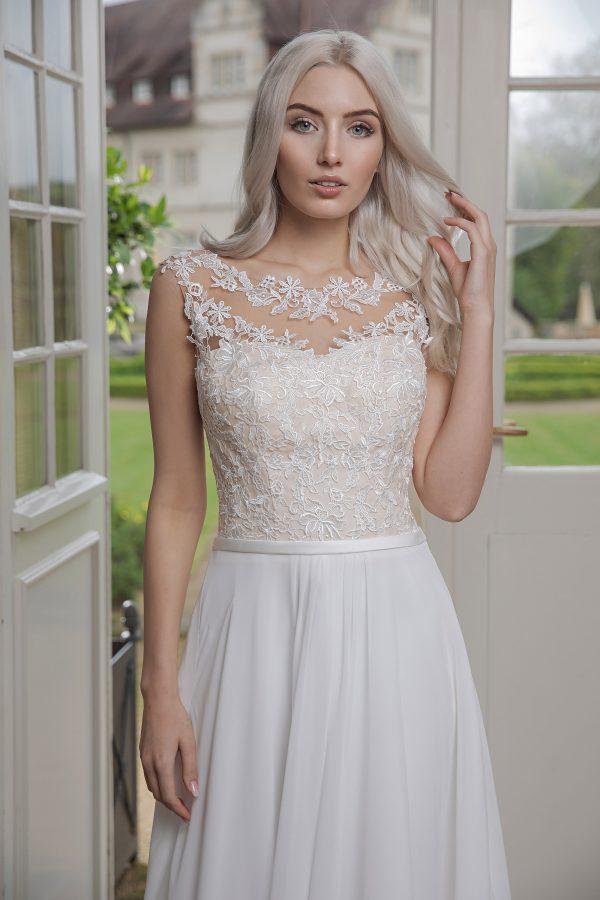 AnnAngelex Kollektion 2020 Ivory Brautkleid Bibiane B2069 3 Avorio Vestito BrideStore And More Brautmode In Berlin Eiche