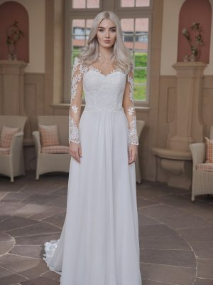 AnnAngelex Kollektion 2020 Ivory Brautkleid Bluma B2070 2 Avorio Vestito BrideStore And More Brautmode In Berlin Eiche