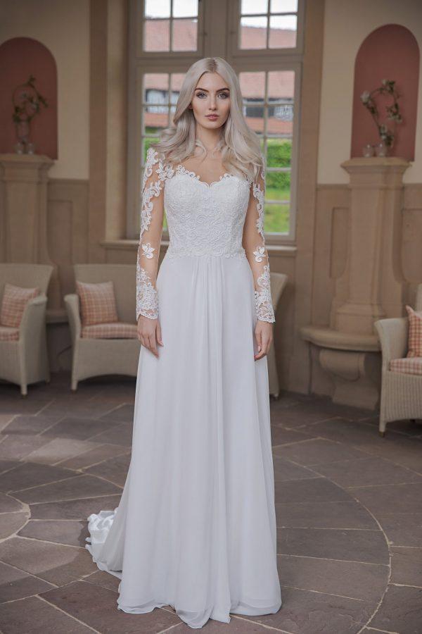 AnnAngelex Kollektion 2020 Ivory Brautkleid Bluma B2070 2 Avorio Vestito BrideStore And More Brautmode In Berlin Eiche