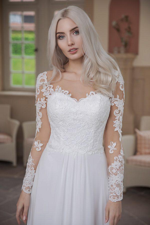 AnnAngelex Kollektion 2020 Ivory Brautkleid Bluma B2070 3 Avorio Vestito BrideStore And More Brautmode In Berlin Eiche