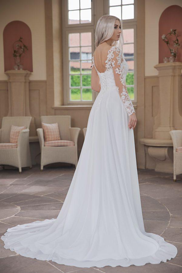 AnnAngelex Kollektion 2020 Ivory Brautkleid Bluma B2070 4 Avorio Vestito BrideStore And More Brautmode In Berlin Eiche