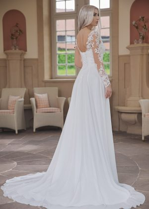 AnnAngelex Kollektion 2020 Ivory Brautkleid Bluma B2070 4 Avorio Vestito BrideStore And More Brautmode In Berlin Eiche