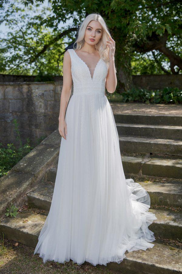 AnnAngelex Kollektion 2020 Ivory Brautkleid Brea B2055 Avorio Vestito BrideStore And More Brautmode In Berlin Eiche