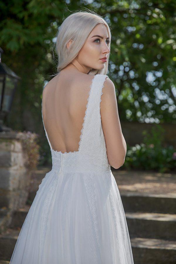 AnnAngelex Kollektion 2020 Ivory Brautkleid Brea B2055 4 Avorio Vestito BrideStore And More Brautmode In Berlin Eiche