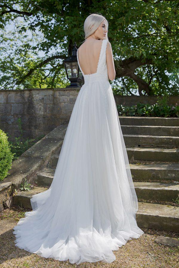 AnnAngelex Kollektion 2020 Ivory Brautkleid Brea B2055 5 Avorio Vestito BrideStore And More Brautmode In Berlin Eiche