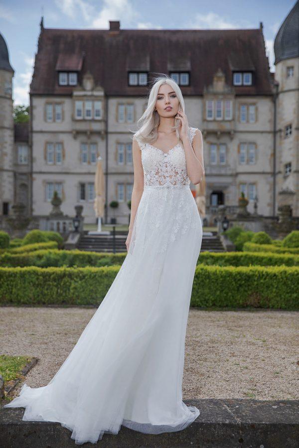 AnnAngelex Kollektion 2020 Ivory Brautkleid Brenda B2068 3 Avorio Vestito BrideStore And More Brautmode In Berlin Eiche
