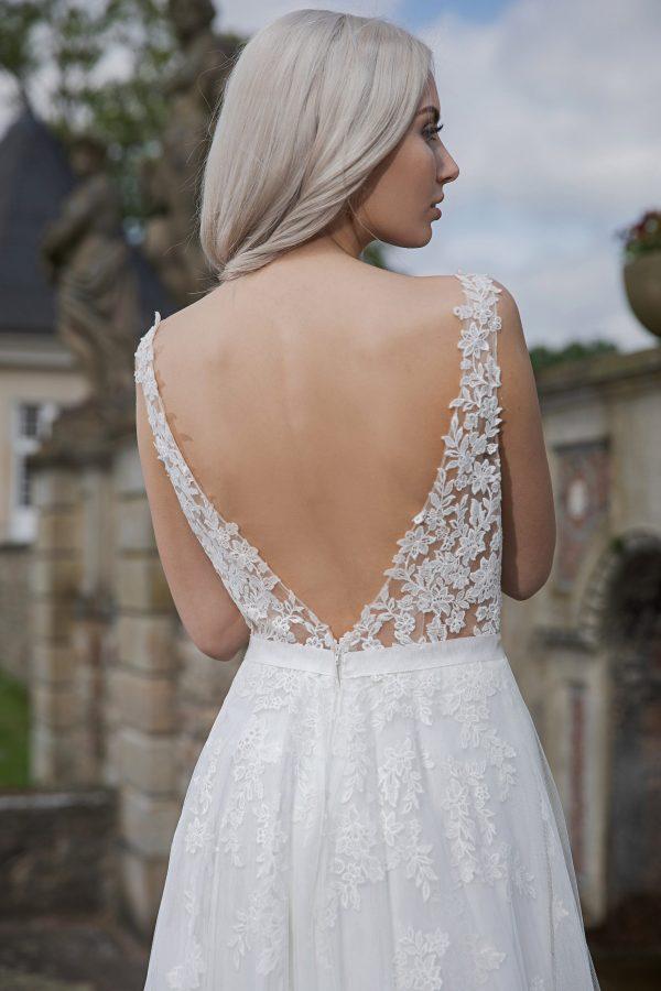 AnnAngelex Kollektion 2020 Ivory Brautkleid Brenda B2068 4 Avorio Vestito BrideStore And More Brautmode In Berlin Eiche