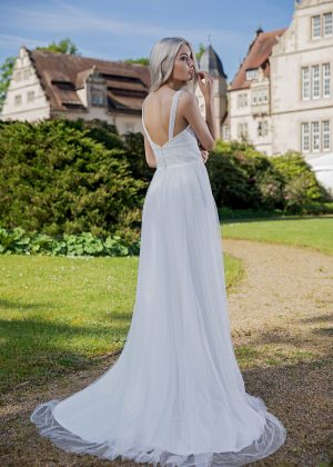 AnnAngelex Kollektion 2020 Ivory Brautkleid Breonna B2059 2 Avorio Vestito BrideStore And More Brautmode In Berlin Eiche