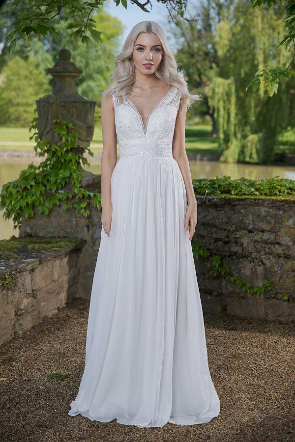 AnnAngelex Kollektion 2020 Ivory Brautkleid Briana B2056 14 Avorio Vestito BrideStore And More Brautmode In Berlin Eiche