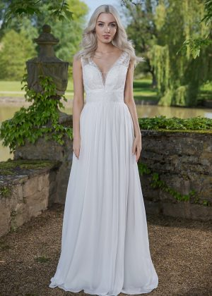 AnnAngelex Kollektion 2020 Ivory Brautkleid Briana B2056 14 Avorio Vestito BrideStore And More Brautmode In Berlin Eiche