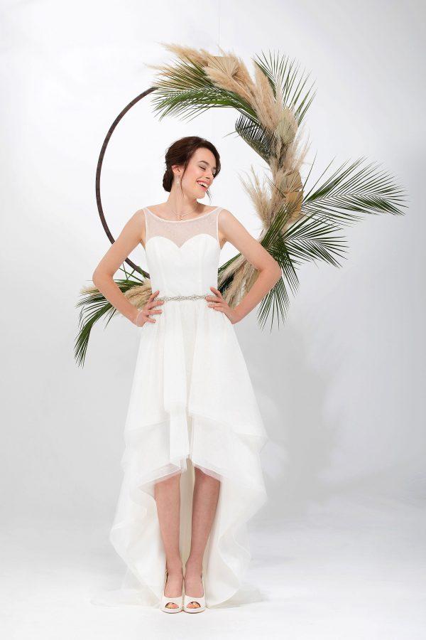 Brautmode In Berlin Eglantine 2020 Ivory Brautkleid EG C20 SAGA 4846 Bei Avorio Vestito BrideStore And More Hochzeitsmode In Berlin Eiche