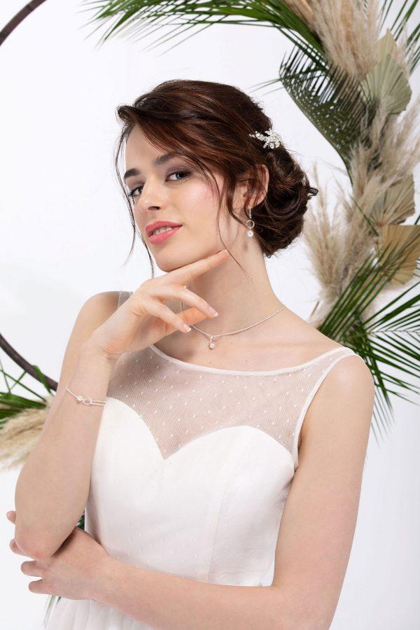 Brautmode In Berlin Eglantine 2020 Ivory Brautkleid EG C20 SAGA 4889 Bei Avorio Vestito BrideStore And More Hochzeitsmode In Berlin Eiche