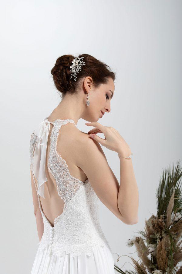 Brautmode In Berlin Eglantine 2020 Ivory Brautkleid EG C20 SANDRA 7085 Bei Avorio Vestito BrideStore And More Hochzeitsmode In Berlin Eiche