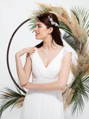 Brautmode In Berlin Eglantine 2020 Ivory Brautkleid EG C20 SHANGAI 4779 Bei Avorio Vestito BrideStore And More Hochzeitsmode In Berlin Eiche