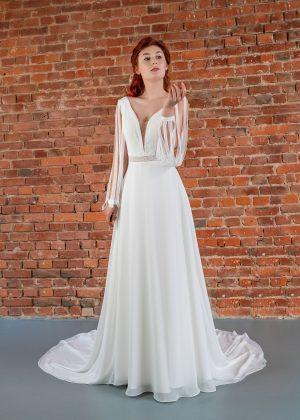 Hochzeitsmode In Berlin Fuchs 2020 Ivory Brautkleid D 03322 1 Bei Avorio Vestito BrideStore And More Hochzeitsmode In Berlin Eiche