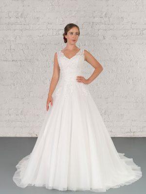 Hochzeitsmode in Berlin Fuchs 2020 ivory Brautkleid D 03348 1 bei Avorio Vestito BrideStore and more Hochzeitsmode in Berlin Eiche