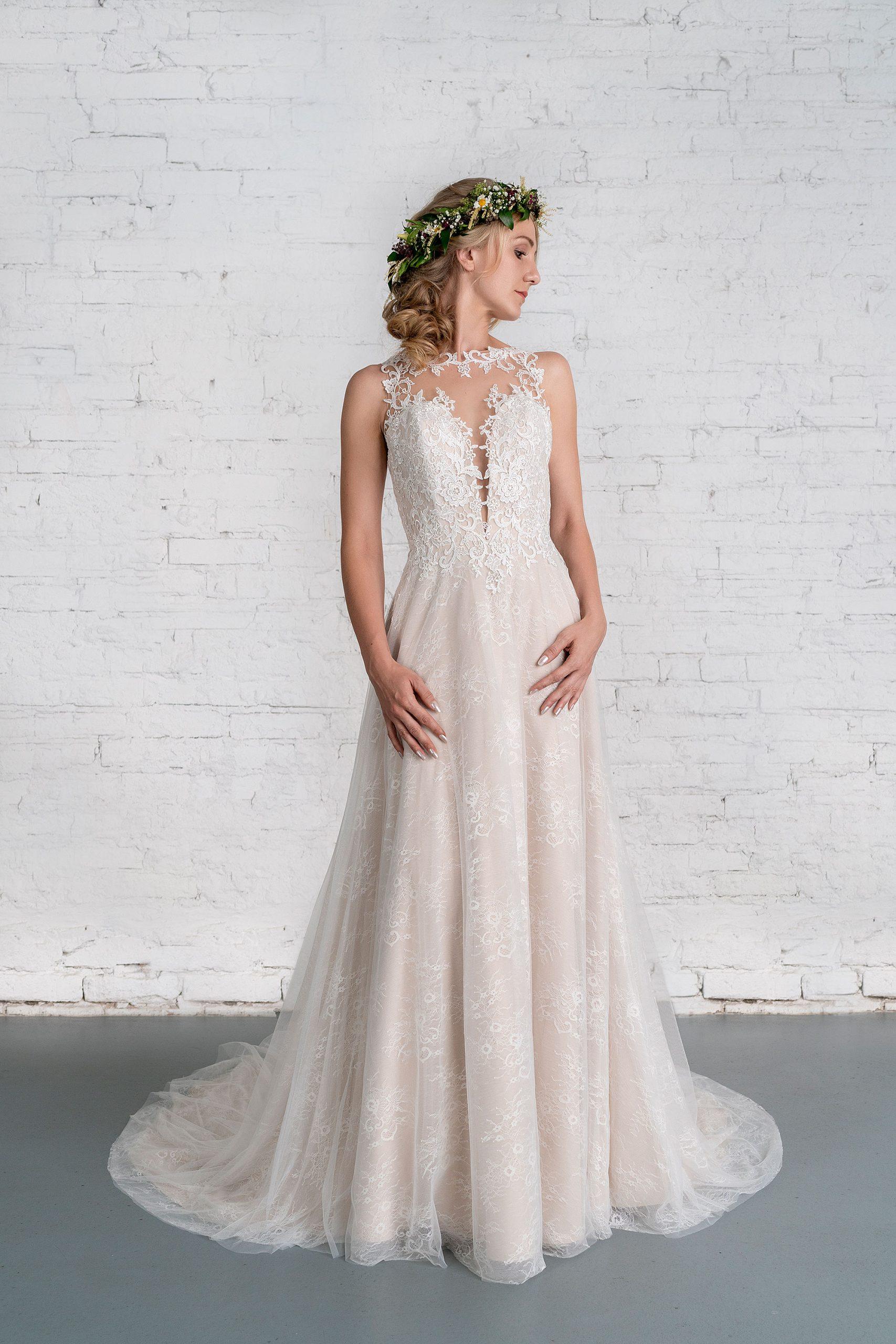 Brautkleid R01187 - Avorio Vestito