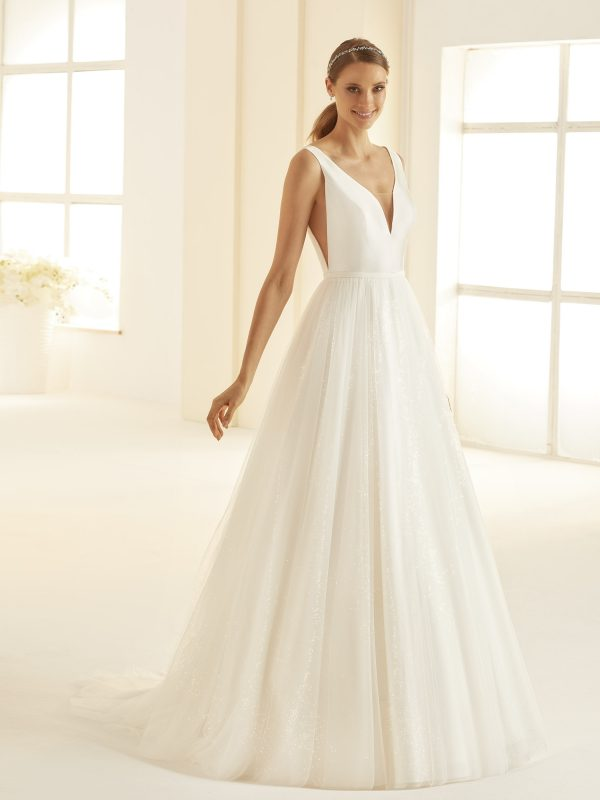 Ivory Brautkleider Bianco Evento 2020 AMANDA 1 Avorio Vestito BrideStore and more in Berlin Eiche