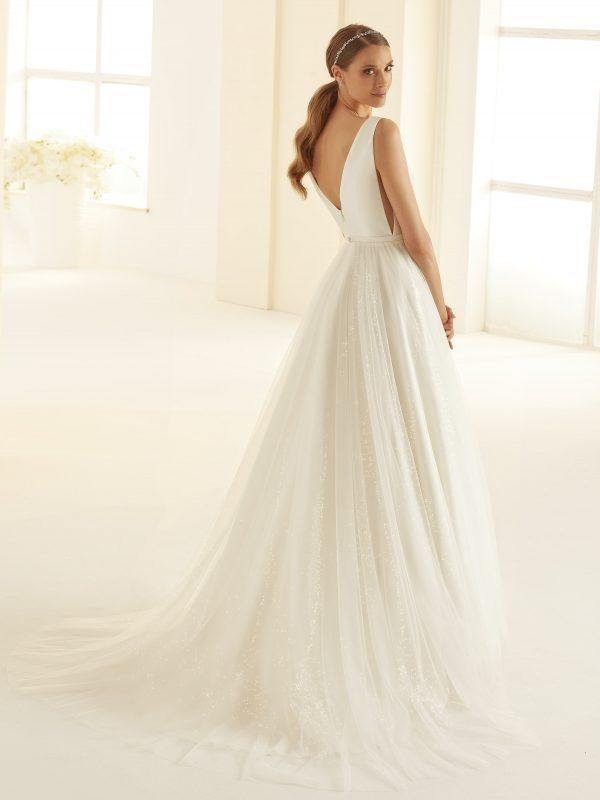 Ivory Brautkleider Bianco Evento 2020 AMANDA 3 Avorio Vestito BrideStore and more in Berlin Eiche