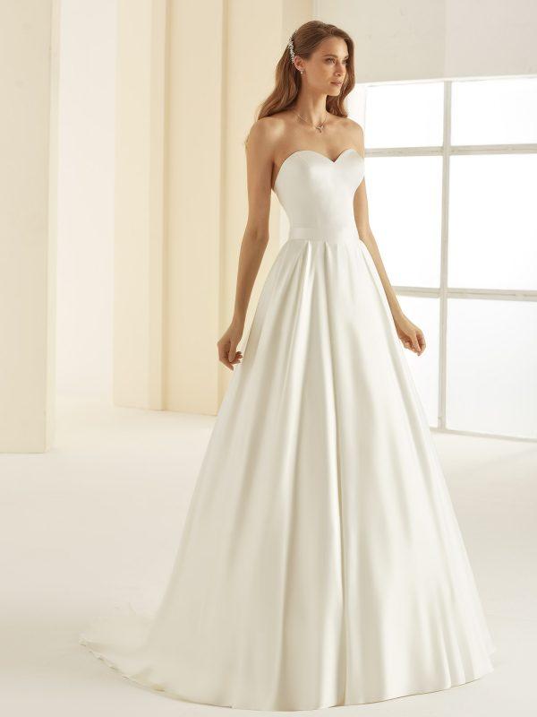 Ivory Brautkleider Bianco Evento 2020 MADAGASCAR Bianco Evento bridal separates skirt 1 Avorio Vestito BrideStore and more in Berlin Eiche