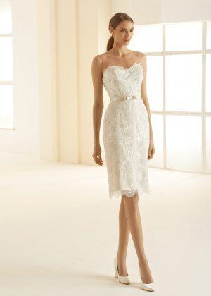 Ivory Brautkleider Bianco Evento 2020 NAOMI 1 Avorio Vestito BrideStore and more in Berlin Eiche