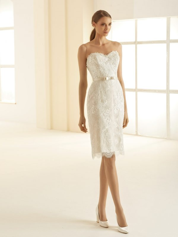 Ivory Brautkleider Bianco Evento 2020 NAOMI 1 Avorio Vestito BrideStore and more in Berlin Eiche