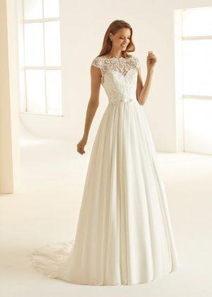 Ivory Brautkleider Bianco Evento 2020 OLIVIA 1 Avorio Vestito BrideStore and more in Berlin Eiche
