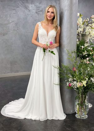 Amera Vera 2021 Brautkleid B2112 3 bei Avorio Vestito BrideStore and more Brautmode in Berlin