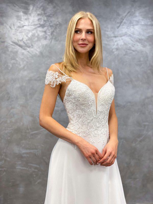 AnnAngelex 2021 Brautkleid B2151 3 Avorio Vestito BrideStore and more Brautmode in Berlin