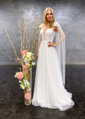 AnnAngelex 2021 Brautkleid B2155 3 Avorio Vestito BrideStore and more Brautmode in Berlin