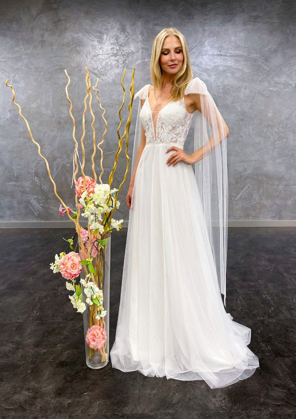 AnnAngelex 2021 Brautkleid B2155 3 Avorio Vestito BrideStore and more Brautmode in Berlin