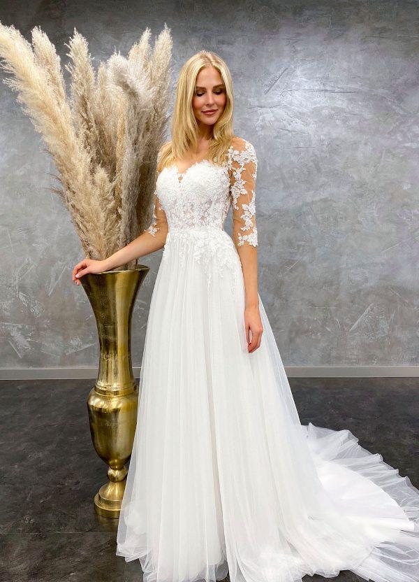 AnnAngelex 2021 Brautkleid B2179 2 Avorio Vestito BrideStore and more Brautmode in Berlin