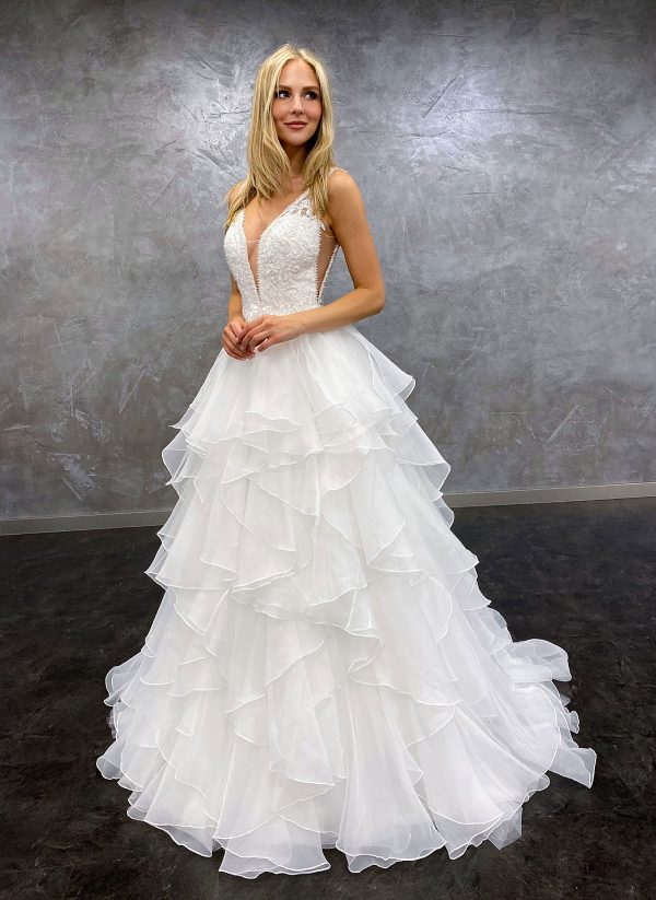 AnnAngelex 2021 Brautkleid B2181 3 Avorio Vestito BrideStore and more Brautmode in Berlin