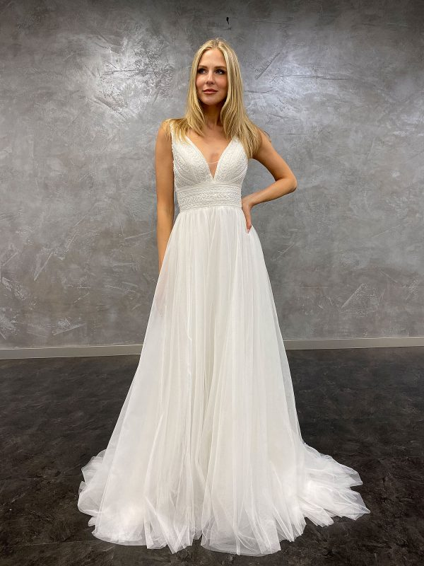 AnnAngelex 2021 Brautkleid B2183 3 Avorio Vestito BrideStore and more Brautmode in Berlin