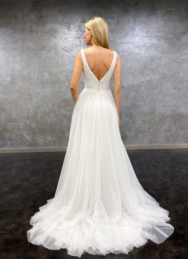 AnnAngelex 2021 Brautkleid B2183 7 Avorio Vestito BrideStore and more Brautmode in Berlin