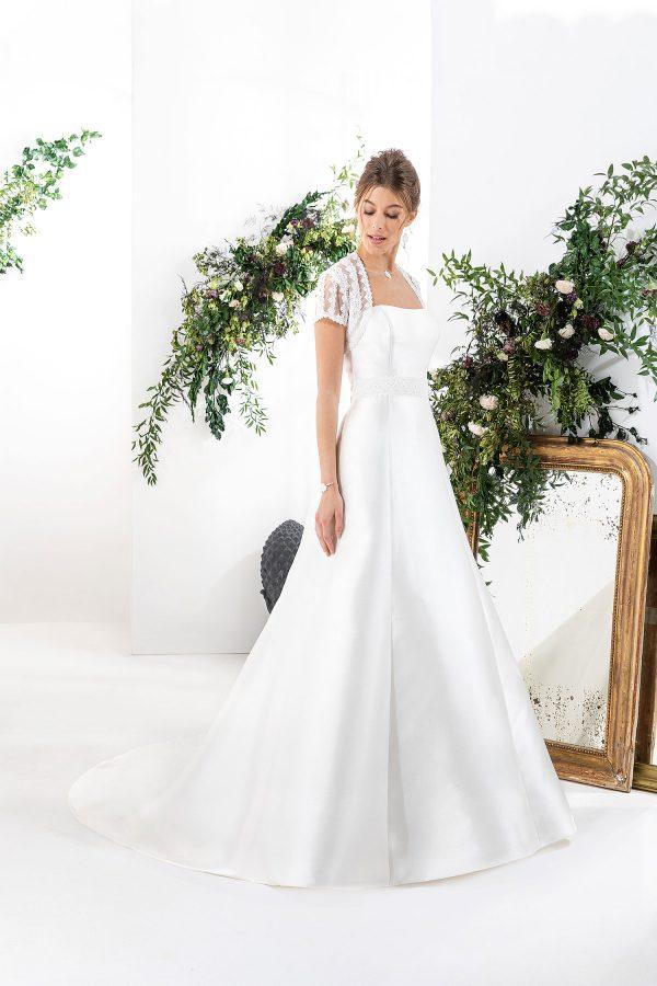 EGLANTINE CREATIONS 2021 Brautkleid EGC21 VALANDRE 1153 Brautmode in Berlin Avorio Vestito BrideStore and more