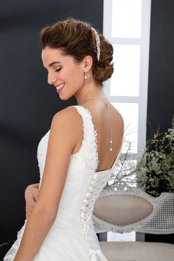 EGLANTINE CREATIONS 2021 Brautkleid EGC21 VALERIE 3021 Brautmode in Berlin Avorio Vestito BrideStore and more