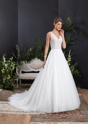 EGLANTINE CREATIONS 2021 Brautkleid EGC21 VALIA 0321 Brautmode in Berlin Avorio Vestito BrideStore and more